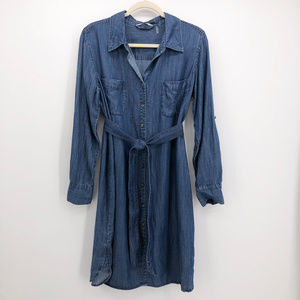 SOFT SURROUNDINGS | Tencel Chambray Tunic Dress